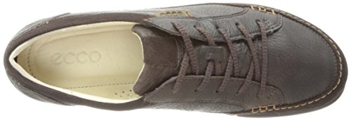 Leather De Mujer coffee58755 Up Ecco Lace Zapatos mocha Para Cordones Marrón Cayla qtgxxXR