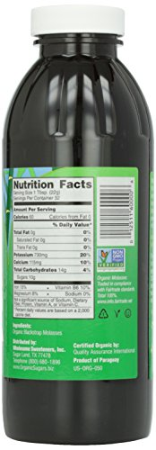 Wholesome Sweeteners, Blackstrap Molasses, 16 oz by Wholesome (Image #4)