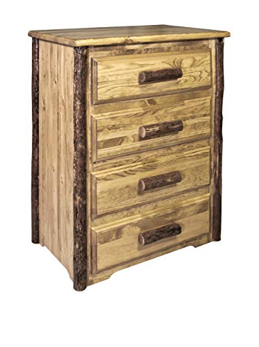(Montana Woodworks MWGC4D Glacier Country Collection 4-Drawer Chest of Drawers)