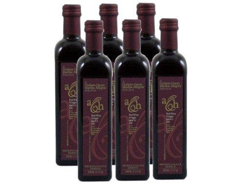 [Red Wine Vinegar Aged in Brandy Oak Barrels by Allegrini and Hazan (Case of 6 - 17 Ounce Bottles)] (Valpolicella Red Wine)