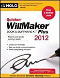 img - for Quicken Willmaker Plus Book & Software Kit 2012 edition book / textbook / text book