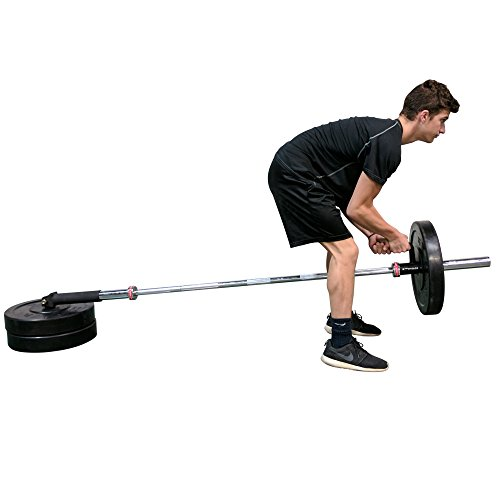 Titan Single Arm Landmine Handle w/Rubber Grip Olympic Barbell
