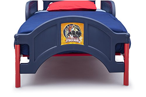 Delta Children Plastic Toddler Bed Marvel Spider Man In