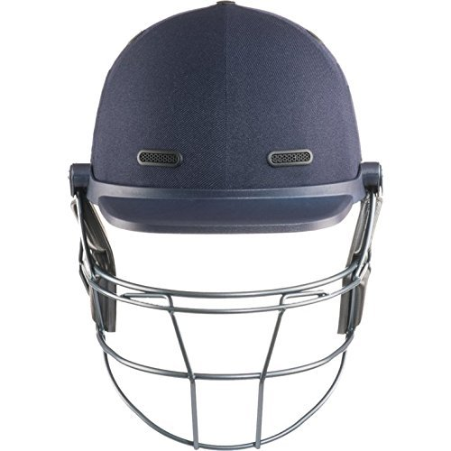 MASURI VS Elite Titanium Adult Cricket Helmet, Navy, Large by Masuri by Masuri