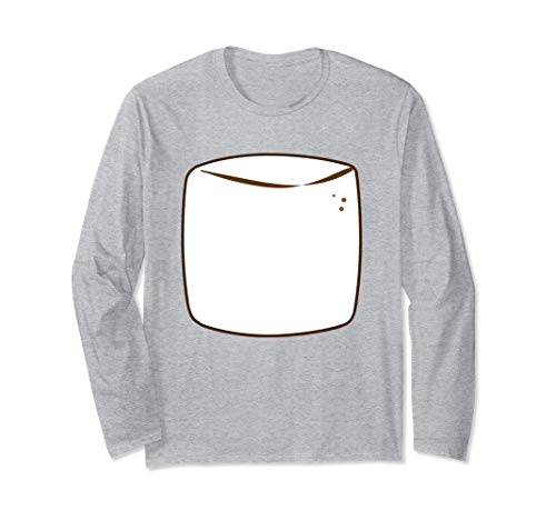 Marshmallow Group S'more Halloween Costume Long Sleeve