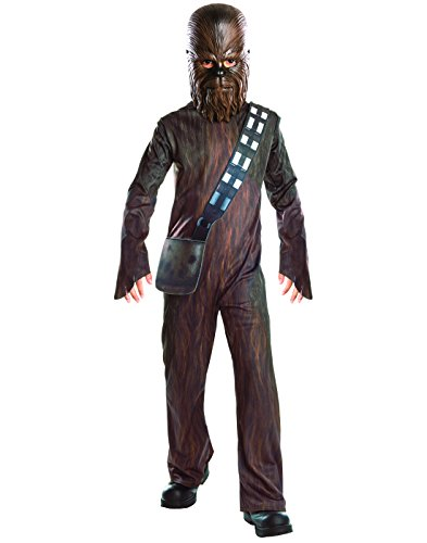 Movie Star Costumes For Kids (Rubie's Costume Star Wars VII: The Force Awakens Chewbacca Child's Costume, One Color, Medium)