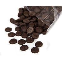 Martins Chocolatier Boutons au Chocolat Noir de Première Qualité - 500g - Idéal pour les fontaines à chocolat, gteaux, cadeaux