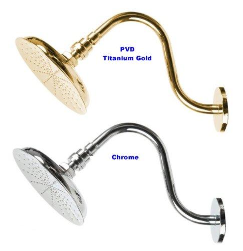 Tropic Rain Shower Head Set - Chrome