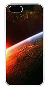 iPhone 5s Cases & Covers - Sunrise In Space PC Custom Soft Case Cover Protector for iPhone 5s - White