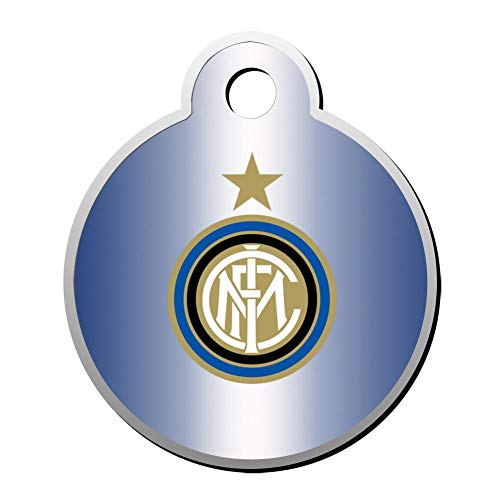 - CSHCSH Italy Serie A Inter Milan Team Emblem Pet ID Tag for Dogs and Cats - Dog Tag Art Pet Tag Personalized Customization