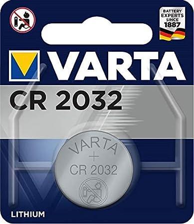 VARTA Autoschlüssel Batterie für Fernbedienung RENAULT Car Key Battery Remote 3V