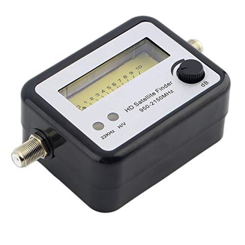 Dalkeyie Digital Satellite Signal Finder Meter Compass FTA TV Signal Receiver & Finder