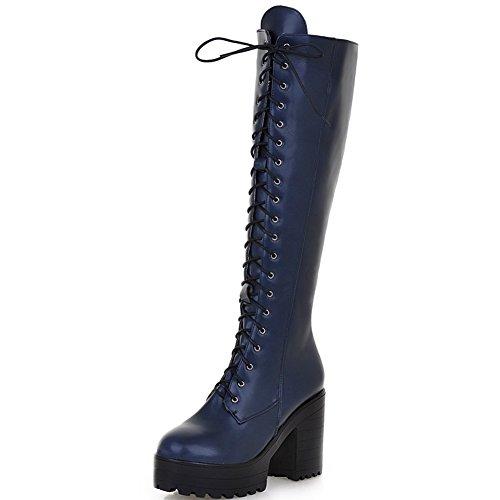pour DoraTasia Femme EU Bottes Bleu 36 Bleu 5 aHH5wqZ