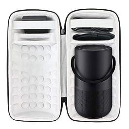 Khanka Hard Case for Bose Portable Home/Smart Bluetooth Speaker (Fits Charging Cradle)