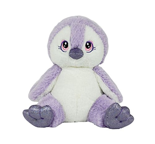 Stuffems Toy Shop Record Your Own Plush 8 inch Purple Penguin - Ready 2 Love in a Few Easy Steps