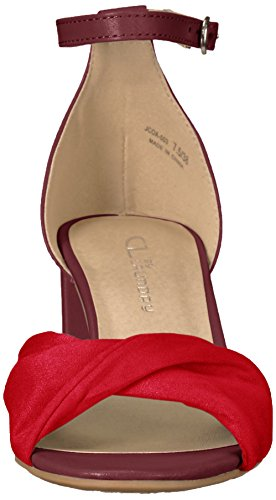 Red CL smooth Women Jill Suede Sandal Red Dress Chinese Laundry by wwB8pR