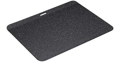 MasterClass MCVITHB4 geïsoleerde bakplaat, krasbestendig en inductieveilige stalen ovenschaal met glasachtige emaille…