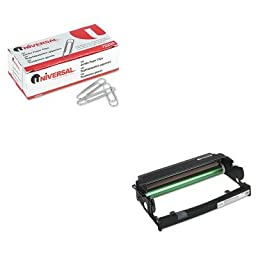 KITIFP75P5712UNV72220 - Value Kit - InfoPrint Solutions 75P5712 Photoconductor Kit (IFP75P5712) and Universal Smooth Paper Clips (UNV72220)