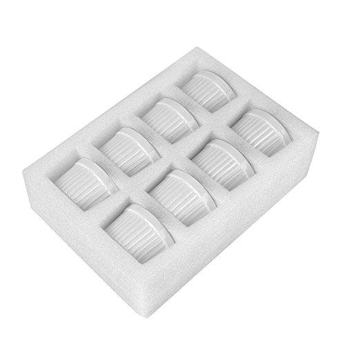 MAMA-AI Encheng 4 oz. Porcelain Ramekins, Porcelain Souffle Dishes, Ramekins for Souffle, Creme Brulee and Dipping Sauces - Set of 8, White by MAMA-AI (Image #3)