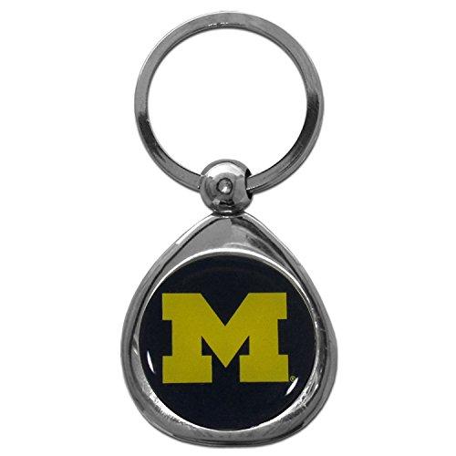 Siskiyou NCAA Michigan Wolverines Key Chain, Metal/Chrome