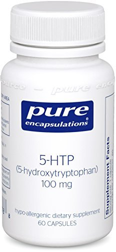 Hydroxytryptophan 100 Mg 60 Capsules (Pure Encapsulations - 5-HTP (5-Hydroxytryptophan) 100 mg. - Hypoallergenic Dietary Supplement to Promote Serotonin Synthesis* - 60 Capsules by Pure)