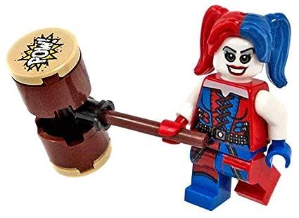 Lego Batman Movie Harley Quinn Minifigure Complete Suicide Squad