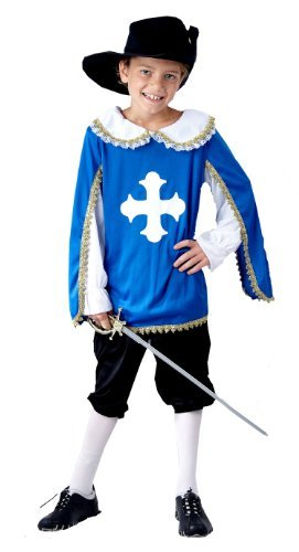 [Musketeer Children's Fancy Dress Costume Age 7-9 by Fancy Dress Costume] (Musketeer Sword Costume)