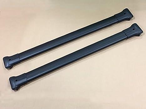 ALVM Parts /& ‿Accessoires Barres transversales Noires pour Barres de Toit pour Vito W639 2003-14
