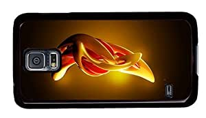 Hipster fun Samsung Galaxy S5 Case Abstract 3D Art PC Black for Samsung S5