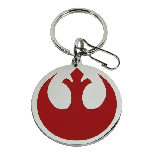 Plasticolor 004290R01 Star Wars Rebel Alliance Logo Key Chain