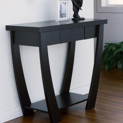 247SHOPATHOME IDI-13622, Sofa Table, Black