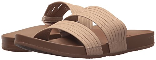 Para Slide Marrón Nude Mujer Chanclas nude Bounce Cushion Reef xfFqSw