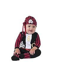 Rubies Costume Baby Boys' Pirate Boy Costume, Multi, 0-6 Months