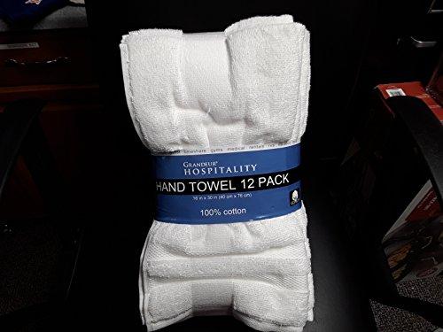 Grandeur Hospitality Hand Towel 12 Pack by Grandeur Hospitality