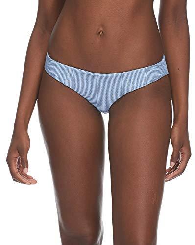 Body Glove Women's Eclipse Surf Rider Bikini Bottom Swimsuit, Denim, Medium ()