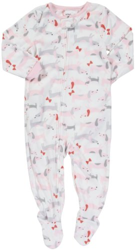 Carter's L/S Footed Blanket Sleeper - Dog- 3T ()