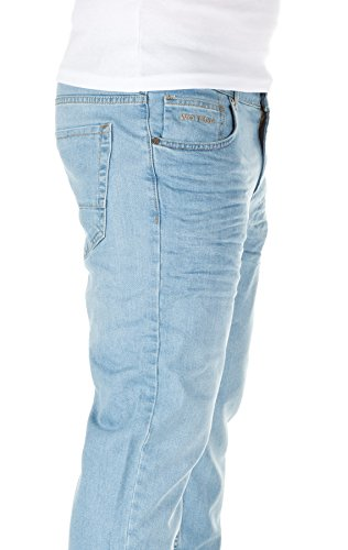 WOTEGA Jeans 411 Jeans Travis Hombre Blue slim Men Denim 6B6Uqxz