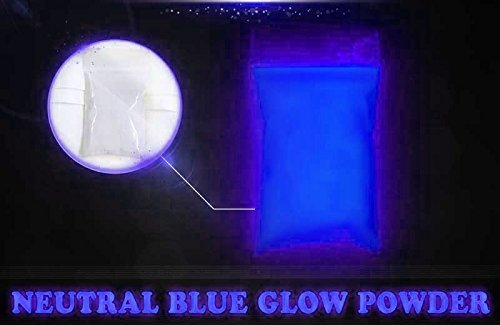 Dark Blue Super Phos Glow Powder by Glonation