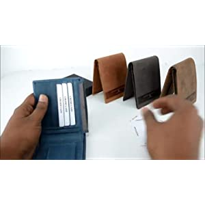 Urban Forest Oklahoma Cognac Mens Leather Wallet