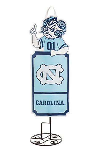 North Carolina Tarheels Outdoor Safe Felt Garden and Tailgate Stake (Entertaining Wall Decor)
