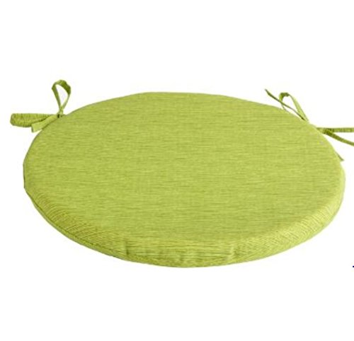 Alfresco Style Solid Green Indoor/Outdoor Bistro Chair Cushion 15