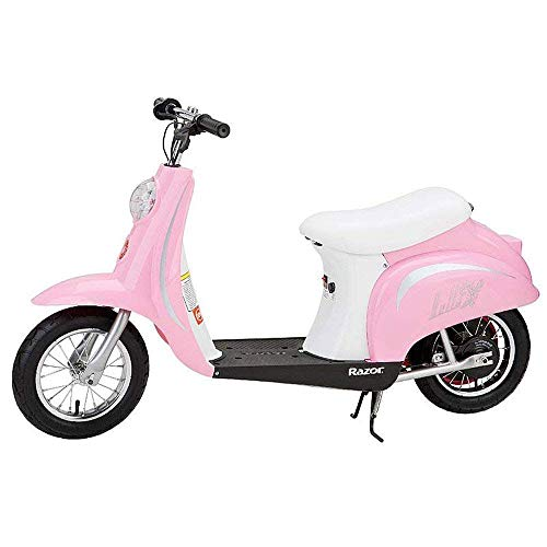 Razor Pocket Mod Miniature Euro Electric Scooter, Pink (Renewed)