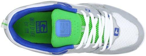 Globe Raid GBRAID2 - Zapatillas de cuero unisex Blanco