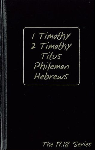 Download Timothy - Hebrews (Journibles: the 17:18 Series) [Hardcover] [2009] (Author) Robert J. Wynalda PDF