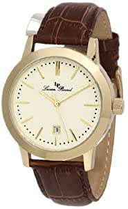 Lucien Piccard Men's 11572-YG-020 Tosa Champagne Textured Dial Watch