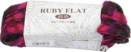 Ruby Flat Stamper Wool Thick Thick Multi System 40 g 19 m 5 pieces