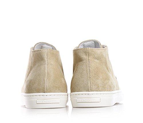 CESARE PACIOTTI - Beige Schuhe mit Schnürsenkel, aus Wildleder, Jungen