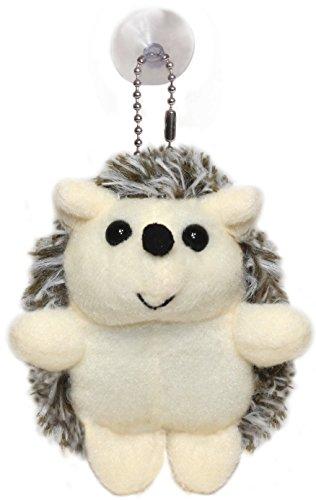 Lucore Happy Hedgehog Plush Stuffed Animal Keychain - Hangin