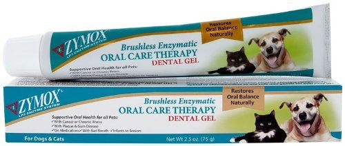 Zymox Oral Care Therapy Dental Gel Size:2.5 Oz Pack of 2 by Zymox
