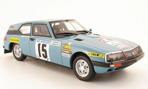 Citroen SM Proto G.Verrier // G.Umbricht Rally du Bandama Modellauto 1968 No.15 Ottomobile 1:18 Fertigmodell